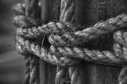 bondage, corde, sublime